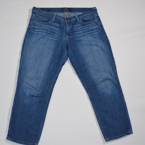 Lucky Brand Sweet Crop Jeans Size 10 30
